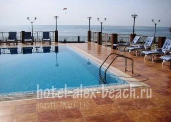 lion beach hotel новый афон