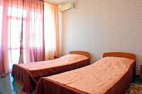 «Крокус» 2-х местный с раздельными кроватями